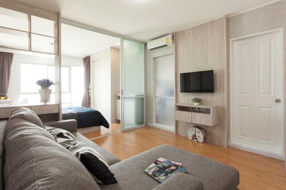 For RentCondoSapankwai,Jatujak : Condo for rent BTS Morchit / MRT Jatuchak  One Bedroom 32 SQM. Fully furnished + Washing Machine : 12000 THB/ Month 26th Floor East Side