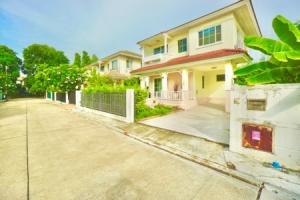 For SaleHouseRamkhamhaeng,Min Buri, Romklao : Single house for sale, Parichart Suwinthawong, 159 sq m. 56 sq wa, next to Khum Klao Road, new renovation, lowest price
