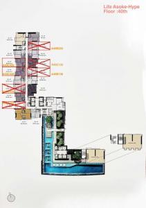 ขายดาวน์คอนโดพระราม 9 เพชรบุรีตัดใหม่ : Life Asoke Hype ชั้น 29,40 ขายต่ำกว่าหน้าสัญญาเป็นล้าน!