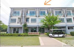 For RentTownhouseChengwatana, Muangthong : For rent.. The Plant Citi Muangthong Tani Lake, Beautiful garden