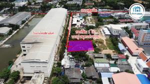 For SaleLandSamrong, Samut Prakan : Bang Pu Land, size 1 rai, Samut Prakan, between Soi Tessaban Bang Pu 94 and 96, near Sri Chan Pradit Temple, Bang Pu Mai, Samut Prakan City.