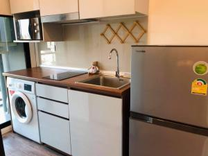 For RentCondoRatchadapisek, Huaikwang, Suttisan : Condo for rent 🔺 Modiz Ratchada 32 🔺 * near MRT Ladprao * Fully furnished, ready to move in
