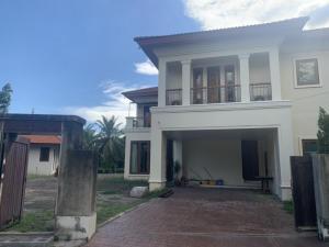 For RentHouseBang Sue, Wong Sawang, Tao Pun : 2 storey detached house for rent, Prachachuen, Klong Prapa Road