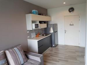 For RentCondoThaphra, Talat Phlu, Wutthakat : For Rent 1 Bedroom The Key Wuttakard (near BTS)