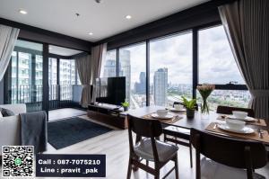 เช่าคอนโดพระราม 9 เพชรบุรีตัดใหม่ RCA : For Rent Ideo Mobi Asoke 2 Bed 54 sq.m. Best Price 33,000 / Month