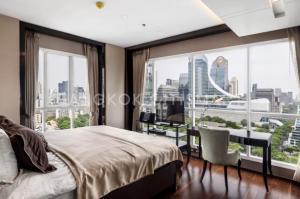 ขายคอนโดวิทยุ ชิดลม หลังสวน : ★☆ (รูปจากห้องจริง) Exclusive The Address Chidrom Combined 2 Bed 2 Bath. 113 Sqm.  Fully-Furnished Room Best View / Best Decoration ★☆