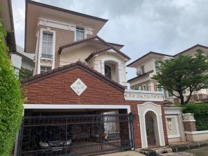 For SaleHouseKasetsart, Ratchayothin : HP-6360056 3-storey detached house for sale, Baan Klang Krung, The Nice Ratchavipha, European style.
