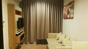 For RentCondoSathorn, Narathiwat : (For Rent) Rhythm Sathorn, new room, clean, furniture + electrical appliances, ready to move in, near BTS Saphan Taksin