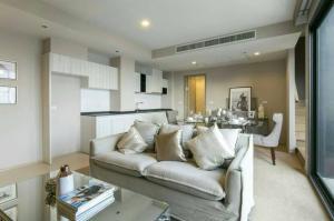 ขายคอนโดสุขุมวิท อโศก ทองหล่อ : ขายคอนโด HQ Thonglor ห้อง Duplex 1 Bedroom 80 ตรม. แต่งสวยมาก ชั้นสูง โทร. 062-339-3663