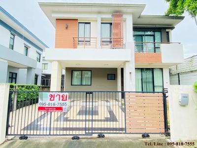 ขายบ้านเอกชัย บางบอน : ขายบ้านเดี่ยว 2 ชั้น ขนาด 59.5 ตร.ว. โครงการปริญสิริ ติด Makro บางบอน ในราคาที่ต่ำกว่าตลาด