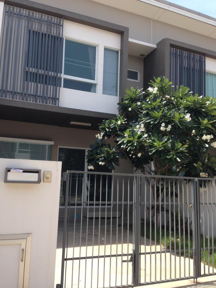 For RentTownhouseRama 2, Bang Khun Thian : Townhome for rent, 2 floors, Rama 2, Soi Bang Kradi 35/1.
