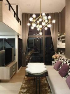 เช่าคอนโดพระราม 9 เพชรบุรีตัดใหม่ : ให้เช่า คอนโด Chewathai Residence อโศก Loft 35 ตรม.  ชั้น 26 ห้องสวย ตกแต่งอย่างดี Fully Furnished K2342