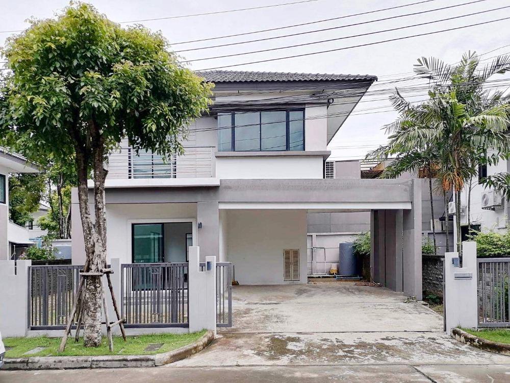 For SaleHouseLadkrabang, Suwannaphum Airport : House for sale at Atoll Java Bay Bangna Suvarnabhumi 54 sq.wa. Empty house near IKEA Bangna.