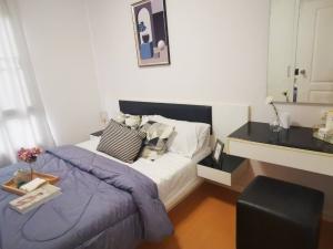 เช่าคอนโดบางนา แบริ่ง : เช่าด่วน !! ห้องแต่งสวยมาก ห้องกว้าง I Condo Sukhumvit 105