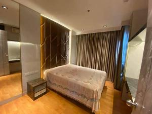 For RentCondoThaphra, Talat Phlu, Wutthakat : W0797 For Rent The President Sathorn-Ratchapruek 3, Size 35 sq.m. 1 bedroom 1 bathroom Closed kitchen, fully furnished, 17th floor, north, the best corner of the room, next to BTS Bang Wa