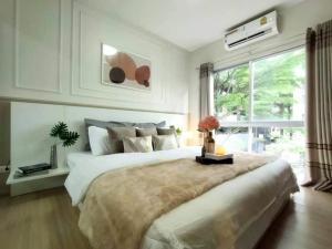 For SaleCondoOnnut, Udomsuk : W0798 Condo for sale, A space Sukhumvit 77, 1 bedroom, private sliding barrier gate Very private, size 35 sqm. , 2nd floor, Building C, fully furnished
