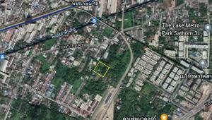 ขายที่ดินท่าพระ ตลาดพลู วุฒากาศ : ที่ดิน 4 ไร่ 40 ตารางวา  ,บางหว้า เทอดไทย ุ67