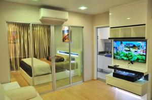 For RentCondoThaphra, Wutthakat : For Rent Casa Ratchada-Ratchapruek Condo. (Nice Room)