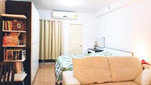 For RentCondoKasetsart, Ratchayothin : For rent, Supalai Park, Kaset Intersection 🍁 complete electrical appliances 🍁 digital door lock 🍁 rental fee 8000 baht only