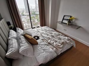 เช่าคอนโดสาทร นราธิวาส : The Seed Mingle condo for rent ให้เช่าห้องสวยเพิ่งตกแต่งใหม่ เดอะ ซี้ด มิงเกิล