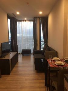 เช่าคอนโดสุขุมวิท อโศก ทองหล่อ : เช่าด่วน !! ห้องแต่งสวยมาก ห้องกว้าง Oka Haus Sukhumvit 36