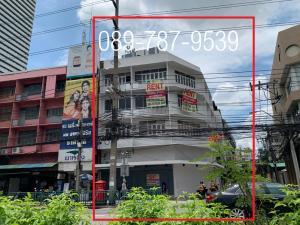 For RentShophouseSathorn, Narathiwat : 4 storey commercial building for rent, corner building, Soi Ngam Du Phli,  Rama 4 Road
