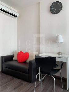 For RentCondoOnnut, Udomsuk : For Rent The BASE Park West Sukhumvit 77 (28 sqm.)