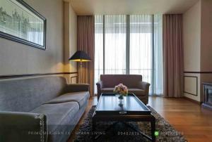 ขายคอนโดสาทร นราธิวาส : The Sukhothai Residences - Luxury 2 Bedrooms / 134 Sqm / Unblocked Views / Beautifully Furnished