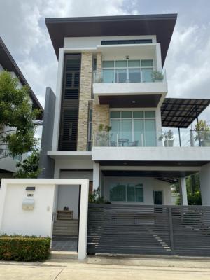 ขายบ้านพัทยา บางแสน ชลบุรี : ขายบ้านเดี่ยว สไตล์โมเดอร์น 3 ชั้นในโครงการ ลาลูน่า วิลลา ซอย สัตหีบสุขุมวิท 89ถนน สุขุมวิท ต. สัตหีบ อ. สัตหีบ จ. ชลบุรี