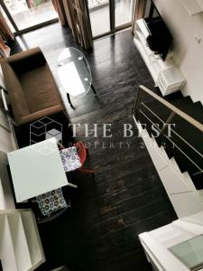 For RentCondoSukhumvit, Asoke, Thonglor : 🔊 Best price for rent, Ideo Morph 38 Duplex room, Rental price only 18,000 baht/month