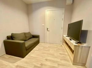 For RentCondoRama9, Petchburi, RCA : For rent Plum Condo Ramkhamhaeng Station 1Bed, size 23 sq.m., Beautiful room, fully furnished.
