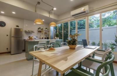 เช่าโฮมออฟฟิศสุขุมวิท อโศก ทองหล่อ : Home Office | BTS พร้อมพงษ์ | 1 จอด | สวนลอยฟ้า