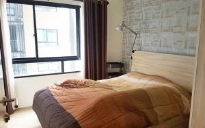 For RentCondoNawamin, Ramindra : For Rent H2 Condo Ramindra 21 @Central Plaza Ramindra 32.75 sq.m 1Bed 5th floor Pool View, Fully furnished
