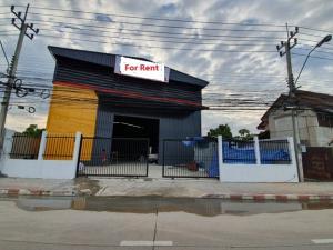 เช่าโกดังนวมินทร์ รามอินทรา : For Rent ให้เช่าโกดังสร้างใหม่ พร้อมสำนักงาน พื้นที่ 1300 ตารางเมตร ห้าแยกวัชรพล รามอินทรา ถนนสุขาภิบาล 5 ทำเลดี รถเทรลเลอร์เข้าออกได้