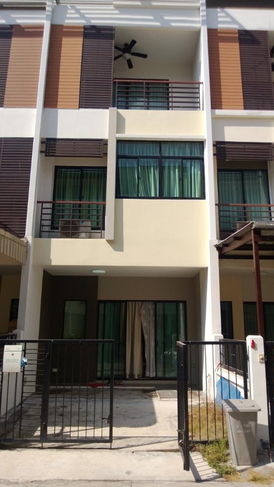 For SaleTownhouseThaphra, Wutthakat : Urgent sale, luxury townhome, 3 floors, 3 bedrooms, 3 bathrooms, project on Kanchanaphisek and Ratchaphruek roads - Kanlapaphruek