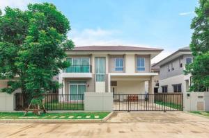 ขายบ้านพระราม 5 ราชพฤกษ์ บางกรวย : ขายบ้านเดี่ยว 2 ชั้น คาซ่า เลเจ้นด์ (Casa Legend)  พระราม 5 ราชพฤกษ์ 60 วา