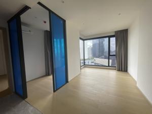 ขายคอนโดพระราม 9 เพชรบุรีตัดใหม่ : 1 bed plus หน้ากว้าง กระจกมุม มีห้องทำงาน ชั้นพิเศษ