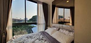 For RentCondoOnnut, Udomsuk : Condo for rent at The Nest Sukhumvit 71 Corner room size 25 sqm. 5th floor , 1 Bed, building D, rental 10,000 bht/month