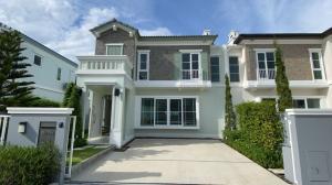 For RentHouseLadkrabang, Suwannaphum Airport : 🌟 For Rent twin houses  Anya Bangna-Ramkhamhaeng 2 🌟 Luxury house with garden / fully furnished