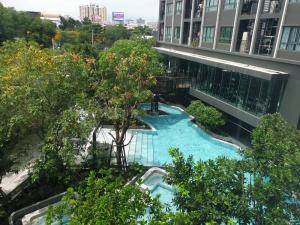 ขายคอนโดพระราม 9 เพชรบุรีตัดใหม่ RCA : 2Bedroom วิวสระว่ายน้ำ ห้องสุดท้าย Ideo New Rama 9