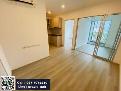 ขายคอนโดท่าพระ ตลาดพลู : Elio สาทร-วุฒากาศ ห้องใหม่ มือ 1 ส่งตรงจากโครงการ 1 Bedroom Plus 34.5 ตร.ม. ราคาพิเศษสุดเพียง 2.79 ล้านเท่านั้น