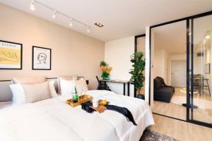 ขายคอนโดเชียงใหม่ : ขายห้องคอนโด เชียงใหม่ ใกล้ ม.ช. นิมมาน มือ1ห้องใหญ่ 36 ตร.ม กั้นห้องเป็นสัดส่วนตกแต่งใหม่พร้อมเข้าอยู่มีให้เลือกถึง 13 ห้อง ในราคาเท่ากัน