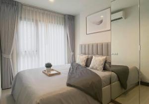 For RentCondoRama9, RCA, Petchaburi : 😍 Life Asoke Hype, 1 bedroom, built-in decoration, minimal, elegant, for rent only 22,000 baht, price negotiable.