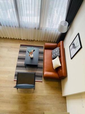 For RentCondoOnnut, Udomsuk : 🏠 Duplex @Siamese Sukhumvit 87 room, beautiful decoration, next to BTS On Nut, rent only 16,000 baht.