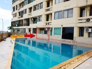 ขายคอนโดพัทยา บางแสน ชลบุรี : ถูกมาก!! คอนโด เทพทิพย์แมนชั่น 29 ตรม. ติดสระว่ายน้ำ (พัทยาใต้)