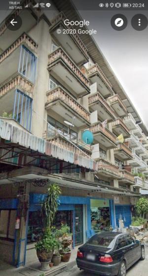 For SaleShophouseWongwianyai, Charoennakor : Selling a commercial building, good conditio, 5.5 floors, near BTS Wongwian Yai.