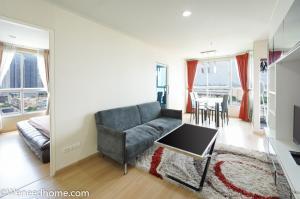 For SaleCondoBang Sue, Wong Sawang : Condo for sale U Delight2 Bang Sue 49 sqm 2 BR corner unit pool view fully furnished