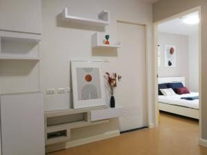 ขายคอนโดเสรีไทย-นิด้า : ขายถูกมาก!! ปรับราคาลง ห้องรีโนเวทใหม่ 31 ตรม อยู่ตึกหน้าสุด ไอ คอนโด สุขาภิบาล 2 ตึก A2 ชั้น 3
