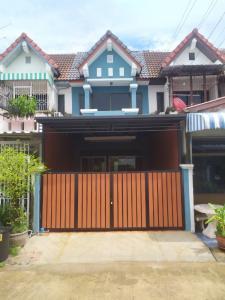 ขายทาวน์เฮ้าส์/ทาวน์โฮมเสรีไทย-นิด้า : ทาวน์เฮาส์ 2 ชั้น 2นอน 19 ตร.วา หมู่บ้านโชคชัยปัญจทรัพย์ รามคำแหง ซ.184 มีนบุรี กรุงเทพ