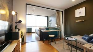 For RentCondoSilom, Saladaeng, Bangrak : Urgent!! Reduce the price for opening the city of ONE BED, fully furnished, open space, MODERN LOFT STYLE, only 15,000 B ฺ